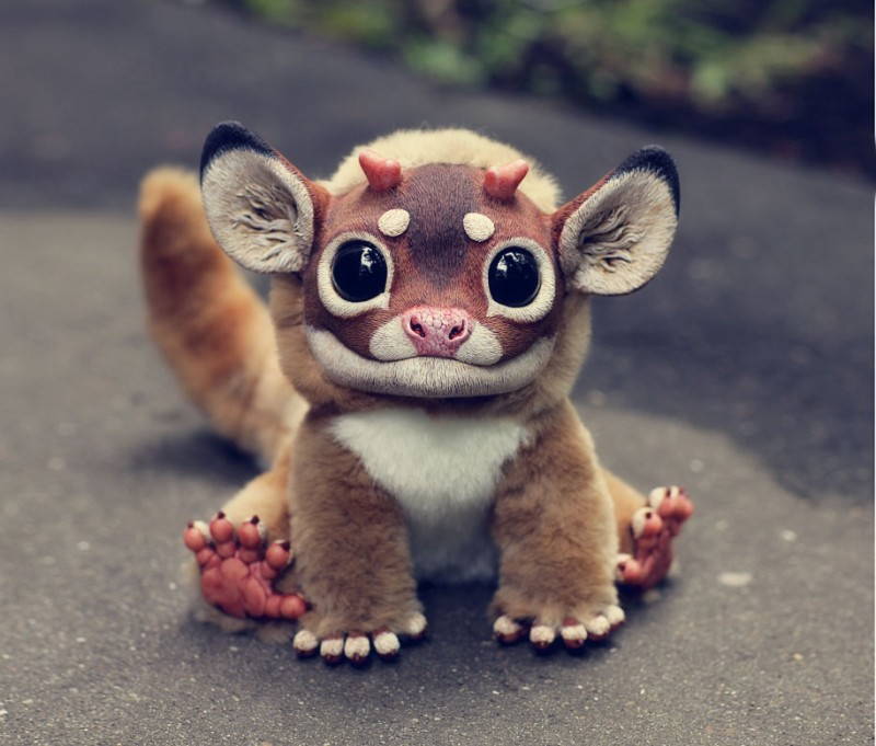 cute-fantasy-creepy-animal-anime-creatures-dolls-sculptures (3)