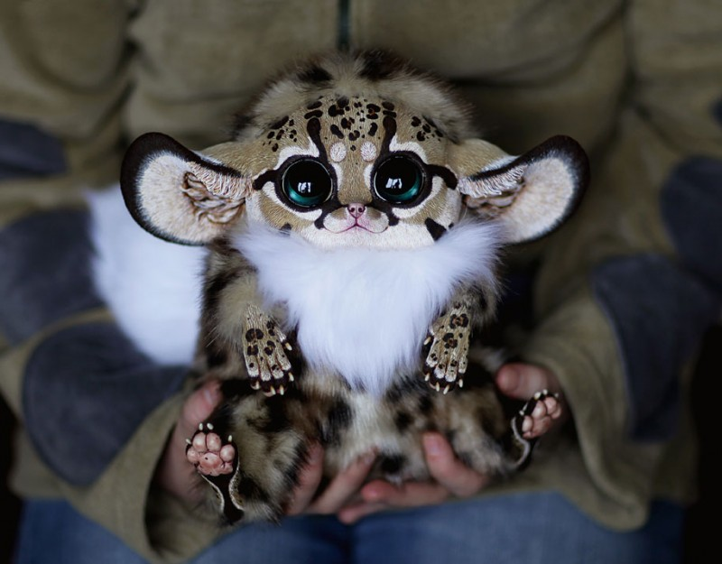 cute-fantasy-creepy-animal-anime-creatures-dolls-sculptures (6)
