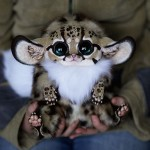 Fantasy anime creatures dolls