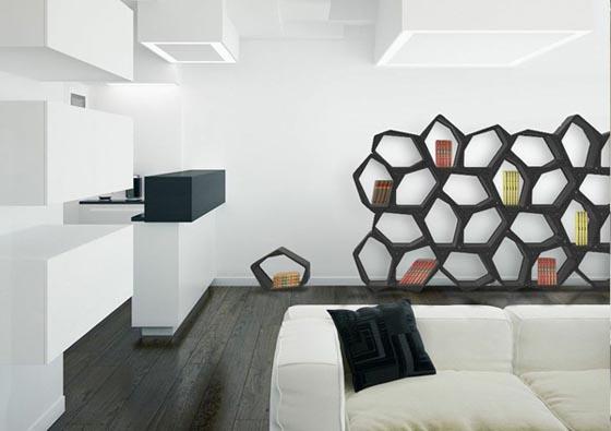 ... Flexible Cool Modern Design Modular Furniture Shelving (4) ...
