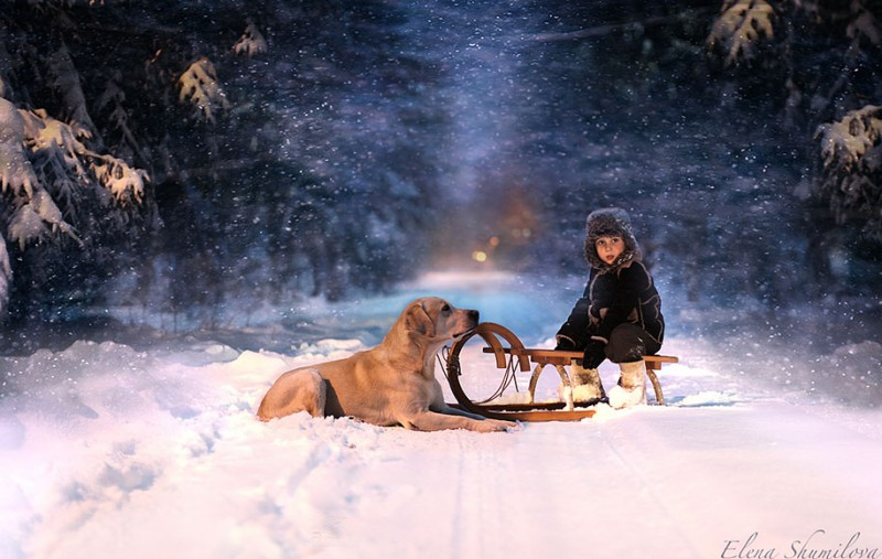 heartwarming-touching-beautiful-children-animals-photos-russia (13)