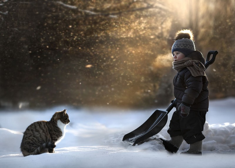 heartwarming-touching-beautiful-children-animals-photos-russia (9)
