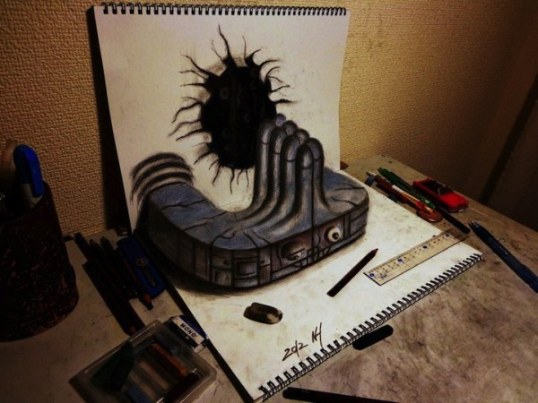 incredible-cool-amazing-3D-Anamorphic-Illustrations-pencil-drawings (10)