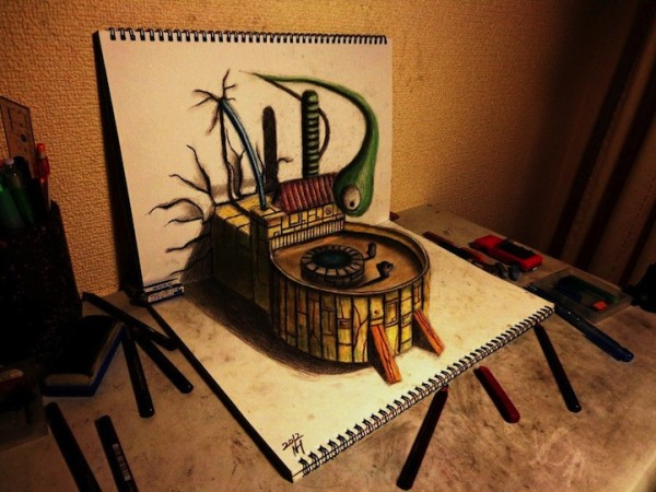 incredible-cool-amazing-3D-Anamorphic-Illustrations-pencil-drawings (11)