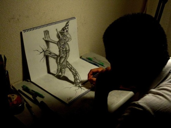 incredible-cool-amazing-3D-Anamorphic-Illustrations-pencil-drawings (14)