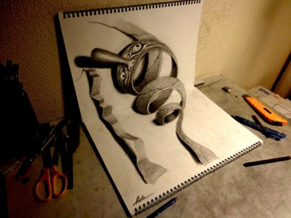 incredible-cool-amazing-3D-Anamorphic-Illustrations-pencil-drawings (2)