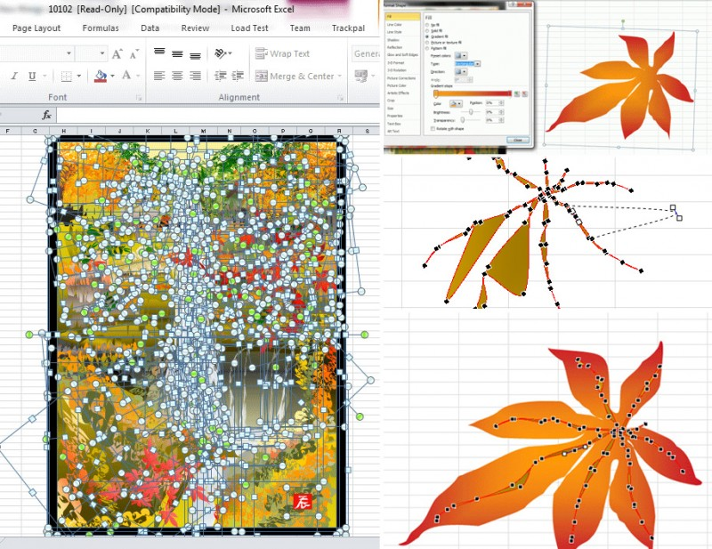 incredible-impressive-amazing-cool-excel-art-drawing-pictures (3)