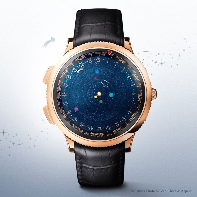 stunning-beautiful-astronomical-gadget-expensive-luxury-watch-Solar-System-planets
