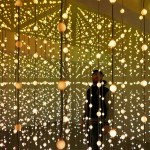 Lost in the Submergence – Art installation created out of 8,064 suspended LEDs