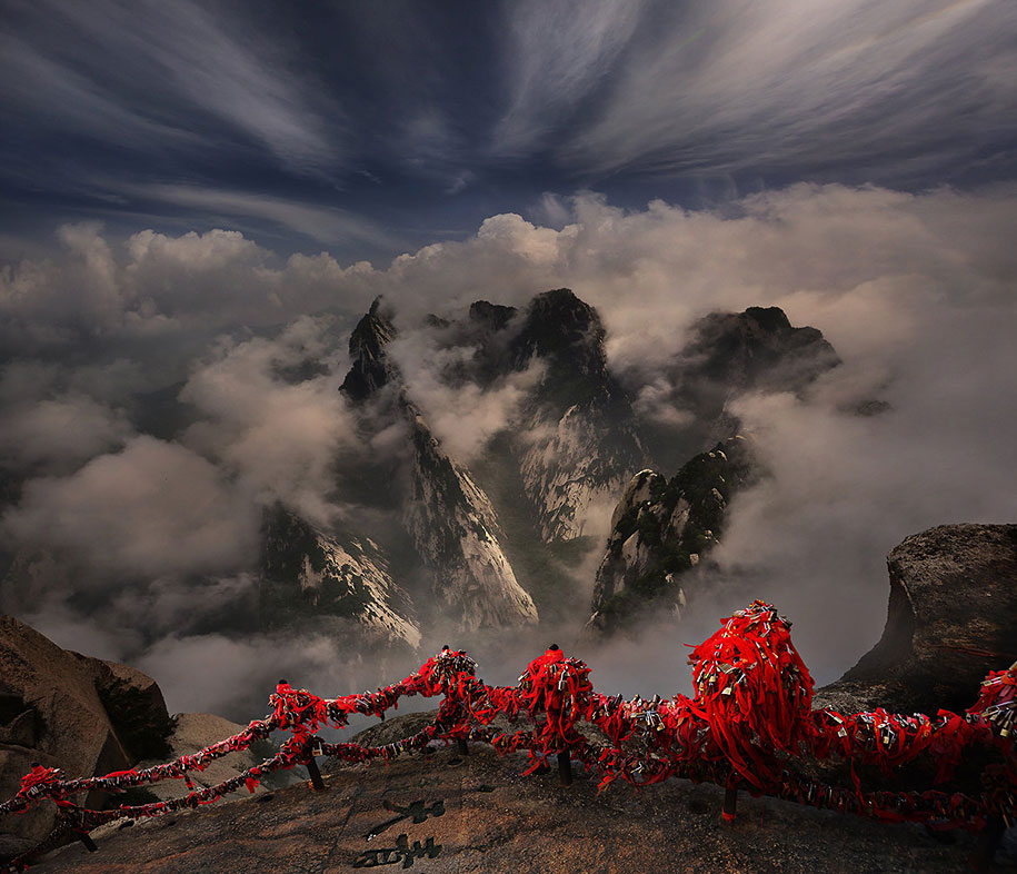 asia landscape breathtaking photographs nature asian fascinating wonderful stunning landscapes weerapong china breath taking scenic natural photographer vuing photograph huashan