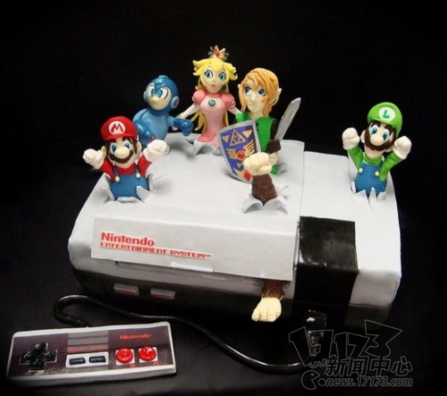 amazing-cool-wonderful-video-games-animation-cakes-designs (8)