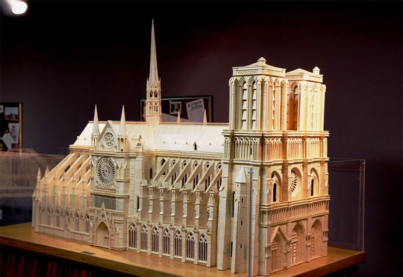 cool-wonderful-biggest-detailed-wooden-matchstick-models-sculpture (10)