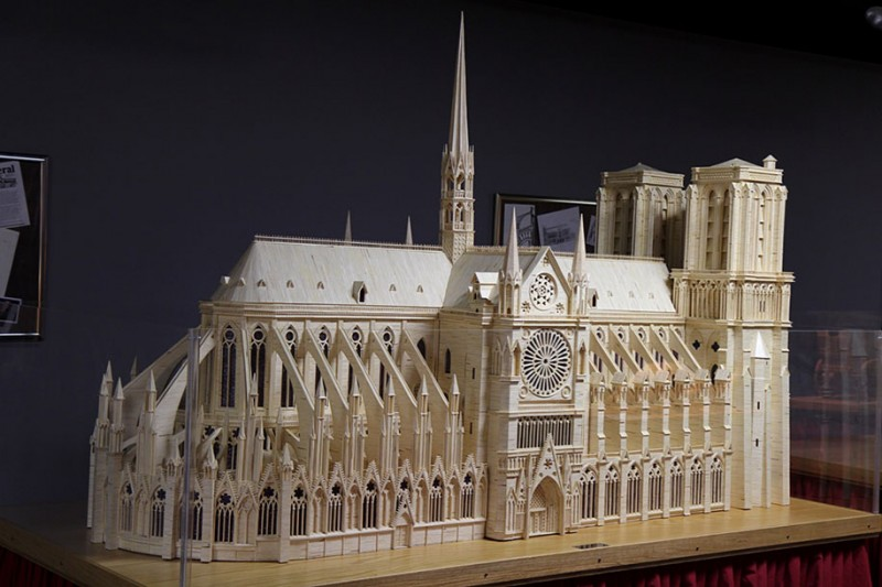 cool-wonderful-biggest-detailed-wooden-matchstick-models-sculpture (11)