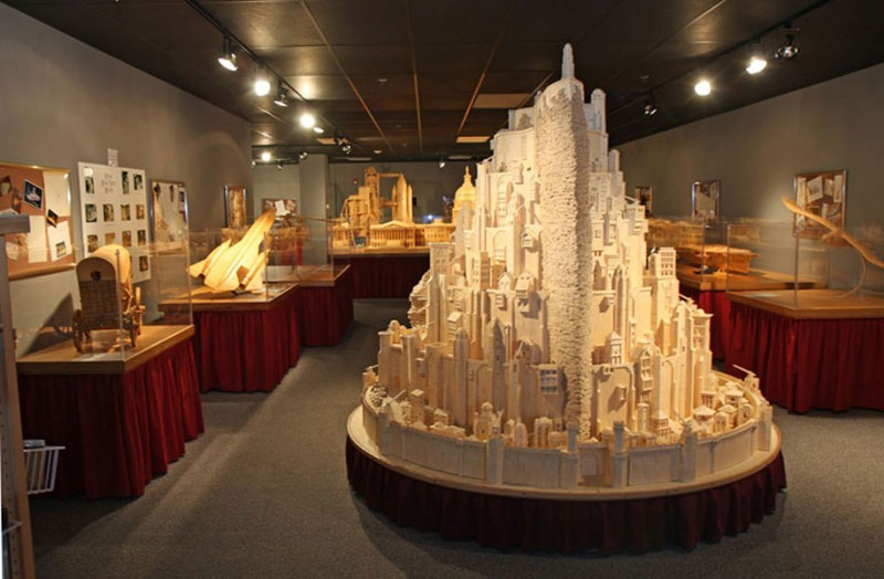 cool-wonderful-biggest-detailed-wooden-matchstick-models-sculpture (9)