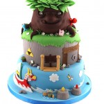 Wondrous collection of video game inspired cakes