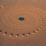 Massive art installation existing in Sahara Desert 17 years