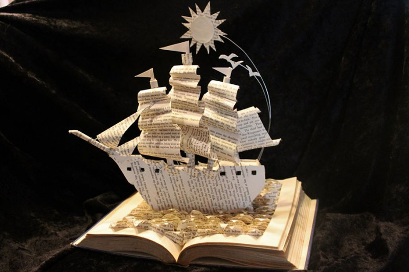 imaginative-creative-paper-art-book-sculptures-artwork