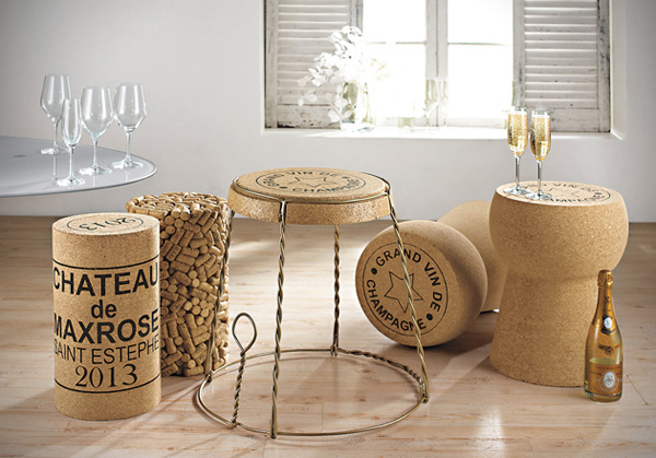 cork furniture. Surreal-unique-creative-wine-champagne-cork-furniture-design Cork Furniture