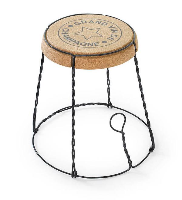 """Cork Furniture: """"Wine Related"""" Furniture Design"""