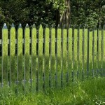Invisible mirror fences reflecting the ever changing landscapes