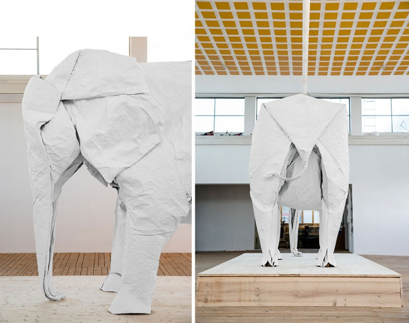 large-life-sized-elephant-origami-paper-folding-sculpture (5)