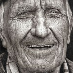 Amazing hyper-realistic pencil drawing by 16-year-old girl