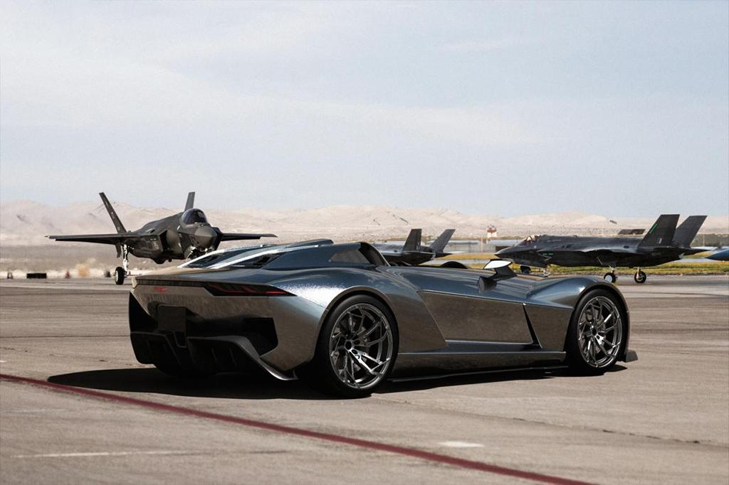 Awesome Cool Roadster Super Car Rezvani Motors Beast