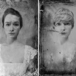 16-year-old girl using herself as a model to depict what she would have looked like in each decade from 1920 through today