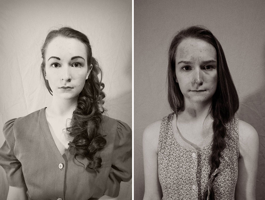 16-year-old Girl Using Herself As A Model To Depict What