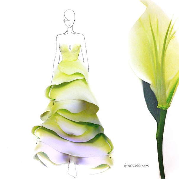 creative-beautiful-real-flower-petals-fashion-illustrations-clothing-sketches-design-inspiration (11)