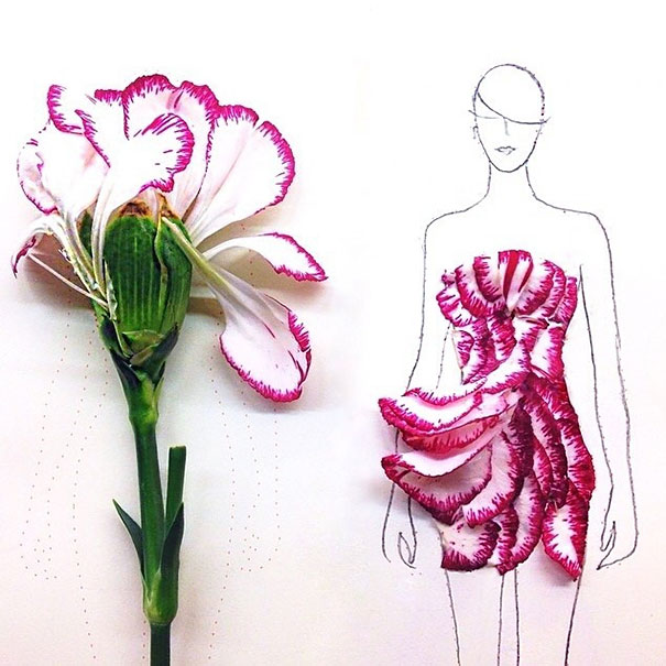 creative-beautiful-real-flower-petals-fashion-illustrations-clothing-sketches-design-inspiration (8)