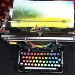 Beautiful Chromatic Typewriter Modified From An Old Typewriter