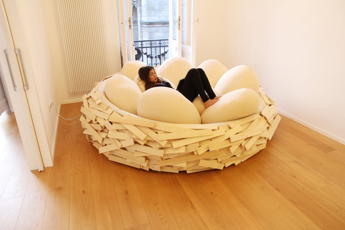 comfortable and modern furniture for living home and With nest sofa bed