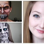 Impressive make-up and face-painting characters by self-taught face painter & makeup artist