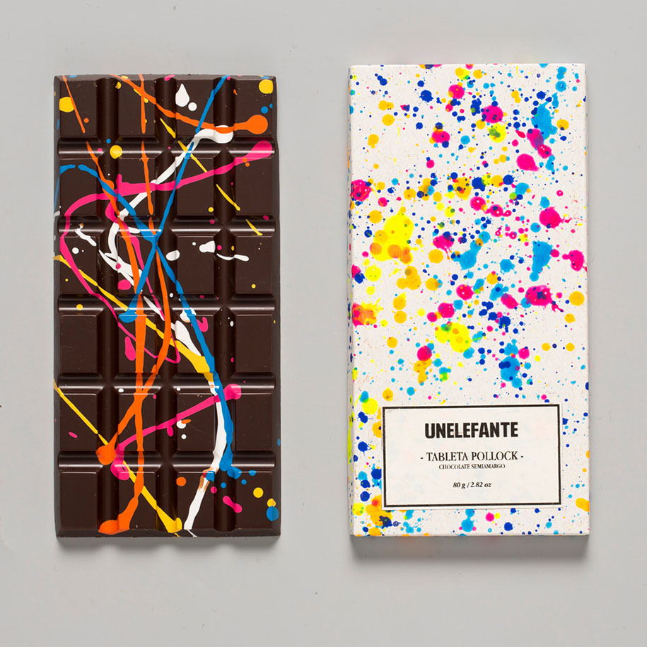 Edible Chocolate Bar Artworks By Mexican Boutique Unelefante Vuing Com