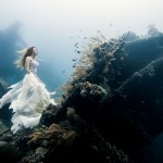 Stunning beautiful 25 meters underwater photographs by Benjamin Von Wong in Bali