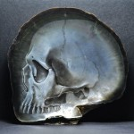Skull Bas-reliefs In Mother Of Pearl Shells