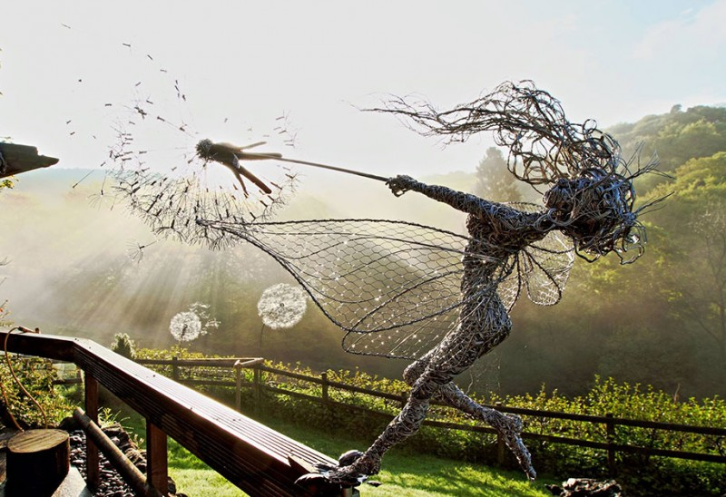 amazing-beautiful-steel-wire-fairy-dandelion-sculptures (3)
