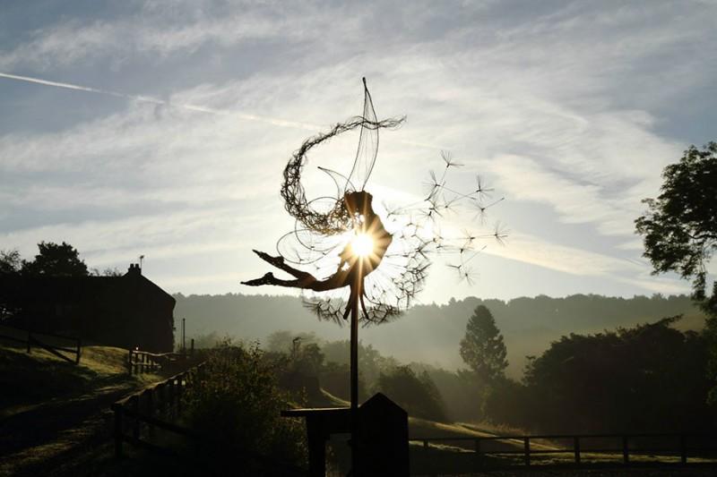 amazing-beautiful-steel-wire-fairy-dandelion-sculptures (5)