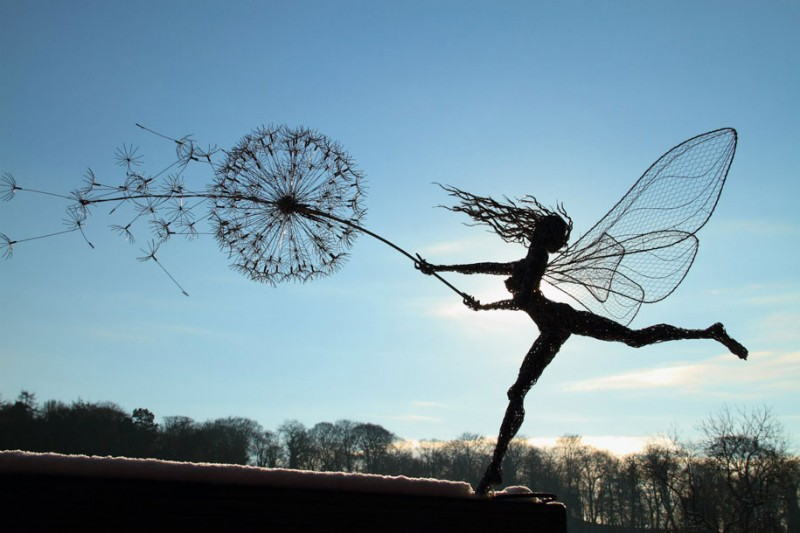 amazing-beautiful-steel-wire-fairy-dandelion-sculptures (7)