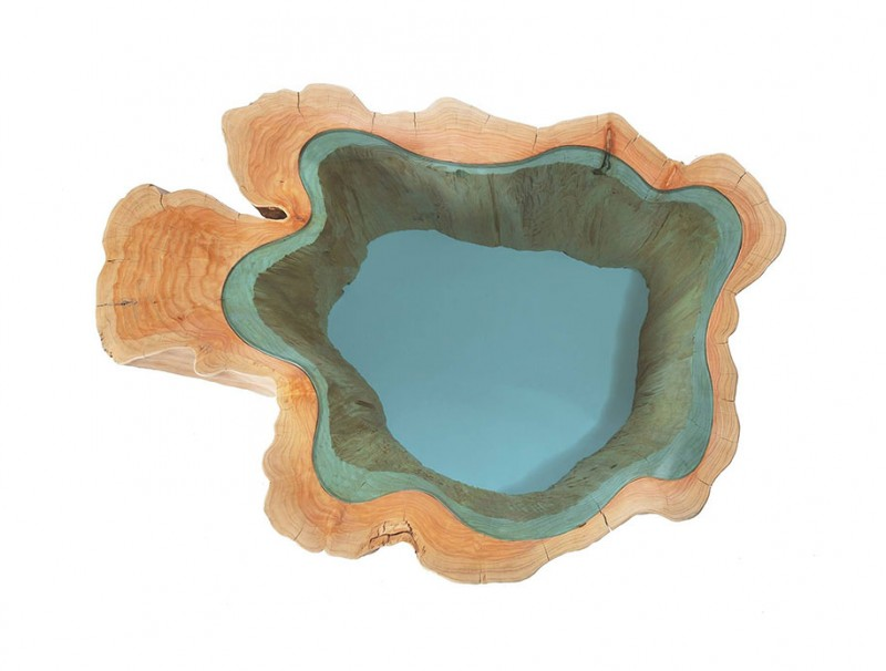 unique-furniture-design-wooden-table-glass-river-lake (11)
