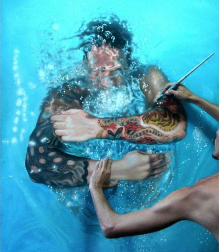 Incredibly-Realistic-Lifelike-Paintings-swimming-people-water (1)
