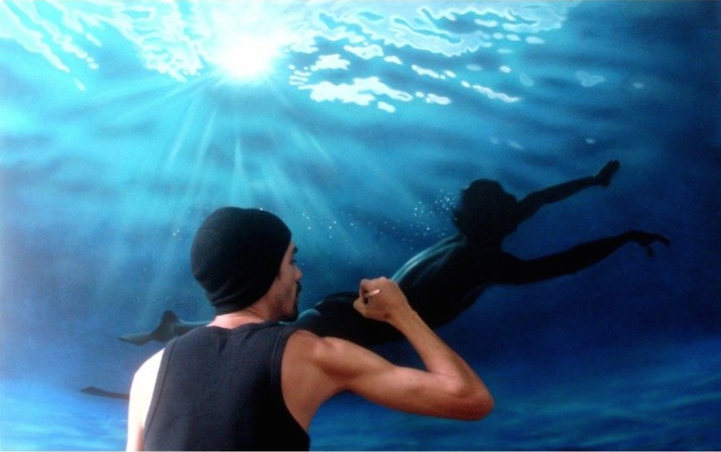 Incredibly-Realistic-Lifelike-Paintings-swimming-people-water (2)