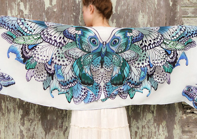 handmade-Stylish-trendy-sexy-unique-women-bird-wing-scarf-design (12)