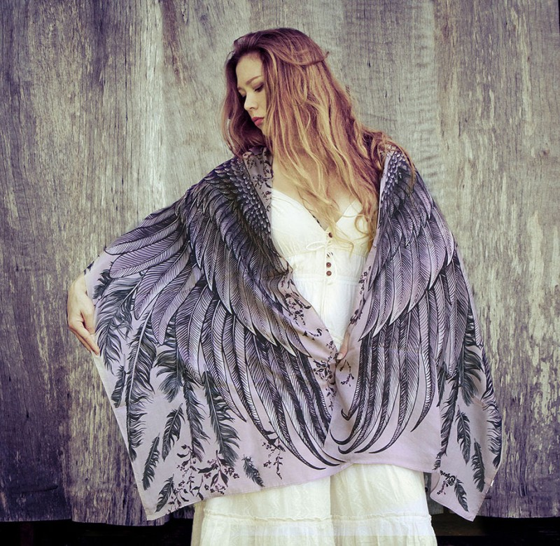 handmade-Stylish-trendy-sexy-unique-women-bird-wing-scarf-design (9)