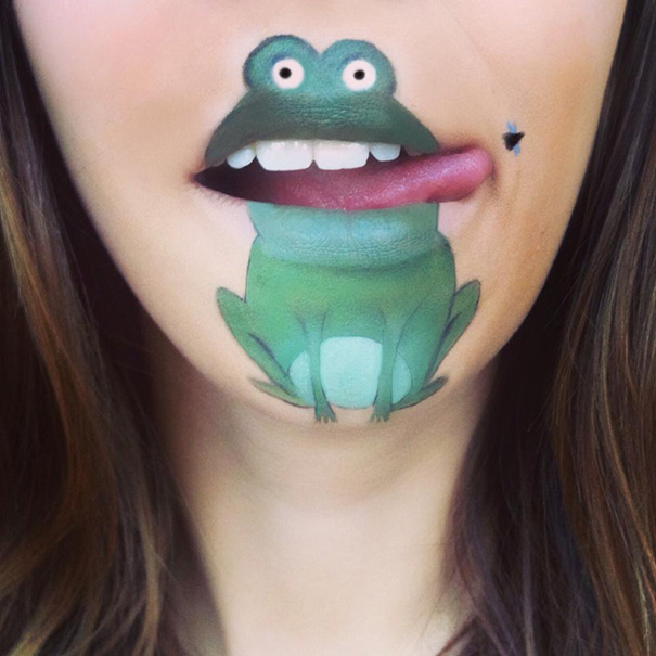 funny-face-paintings-Cartoon-Characters (11)
