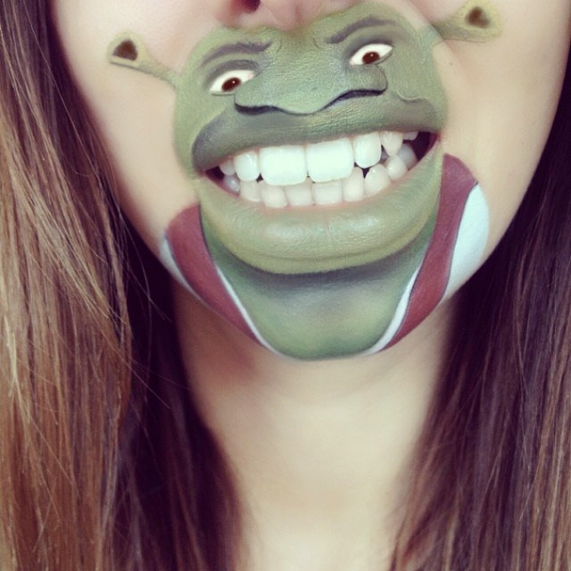 funny-face-paintings-Cartoon-Characters (24)