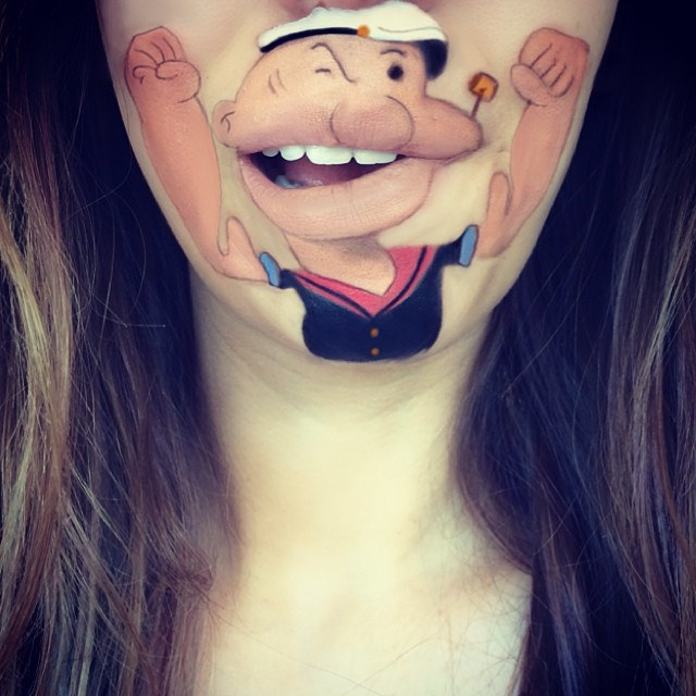 funny-face-paintings-Cartoon-Characters (26)