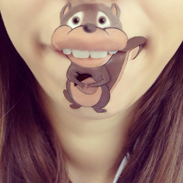 funny-face-paintings-Cartoon-Characters (4)