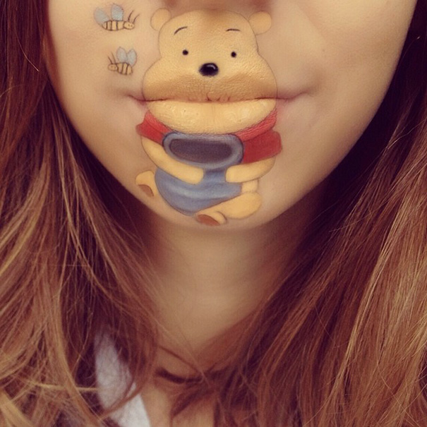 funny-face-paintings-Cartoon-Characters (5)